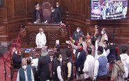 Agitation-over-farmers'-agitation-in-Rajya-Sabha