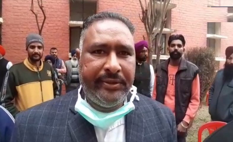 Candidate-dharminder-singh-from-ward-no-2-of-patti