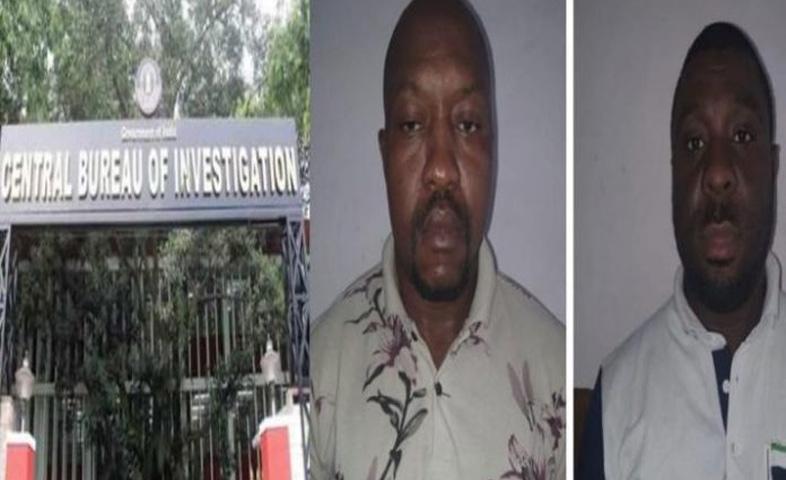 Cbi-arrested-two-Nigerian-drug-peddlers-in-bengaluru