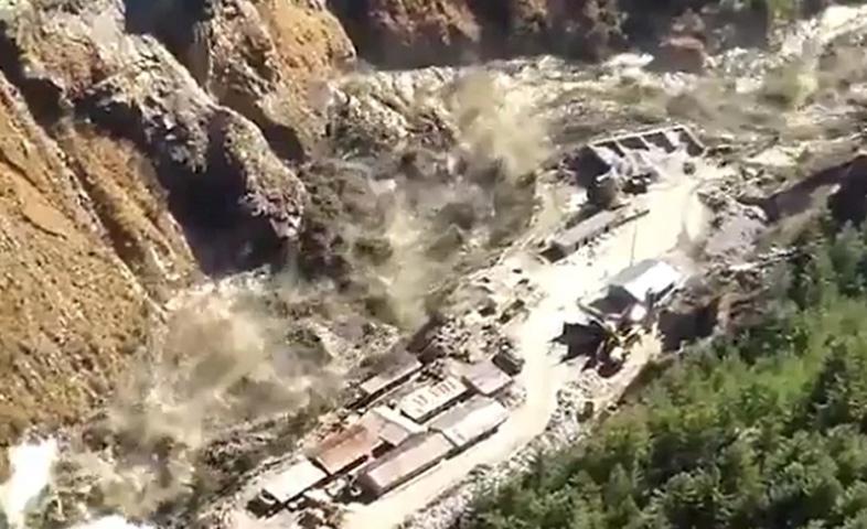 Uttarakhand-massive-flood-in-chamolis-dhauliganga-after-glacier-breaks