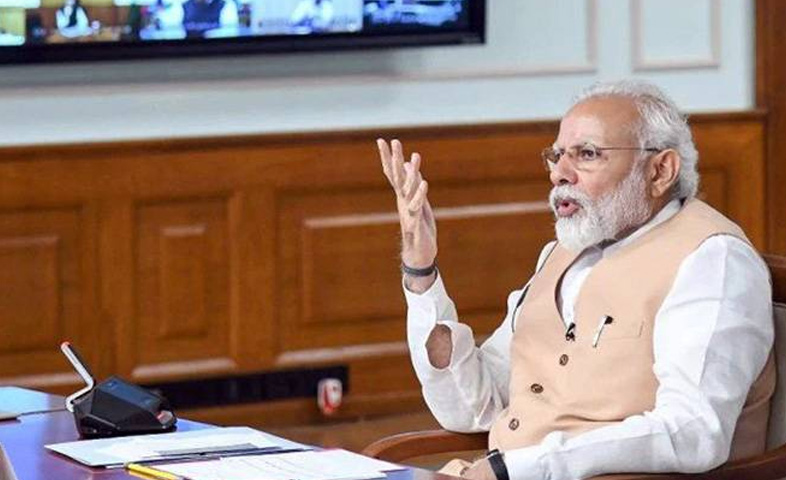 Pm-modi-to-meet-all-CM's-today