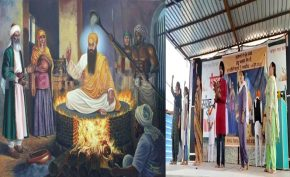 Farmers-celebrated-guru-arjandev's-martyrdom-day-at-tikri-border
