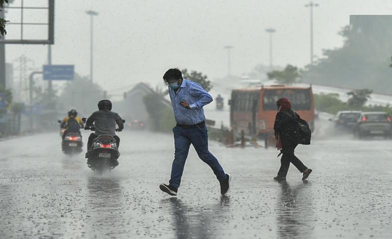 Rain in many states