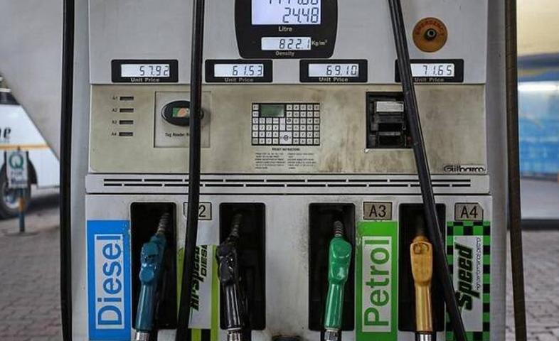 the price of petrol and diesel again increased