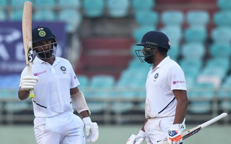 Rohit and Pujara