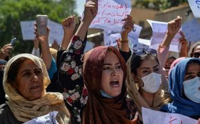 AFGHANISTAN PROTEST
