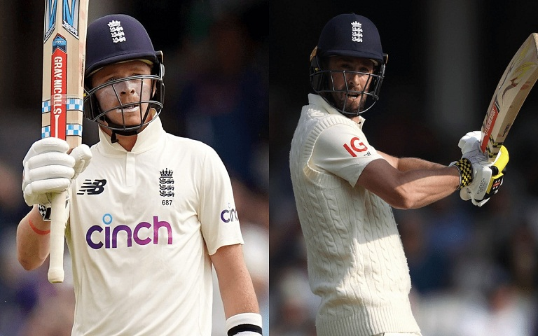 Pope and Woakes
