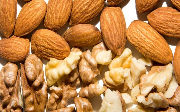 Almonds Walnuts