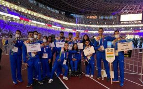 Indian Team Paralympics