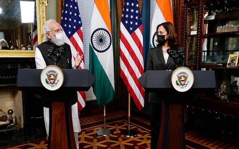 Kamla Harris and Modi